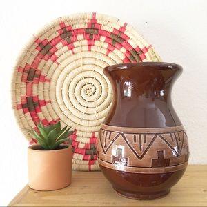 Southwest vase